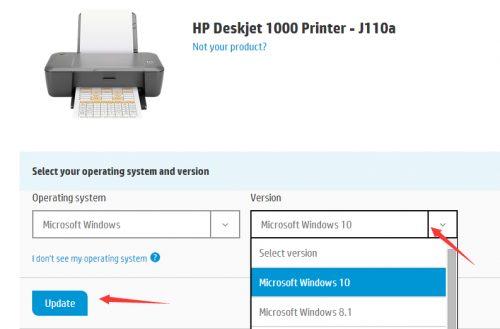 descargar driver impresora hp deskjet 2050 windows 7 32 bits