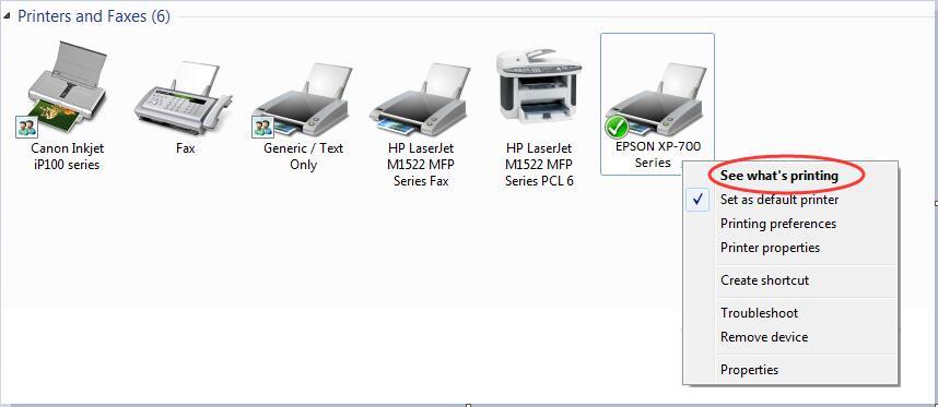 how to add a printer offline