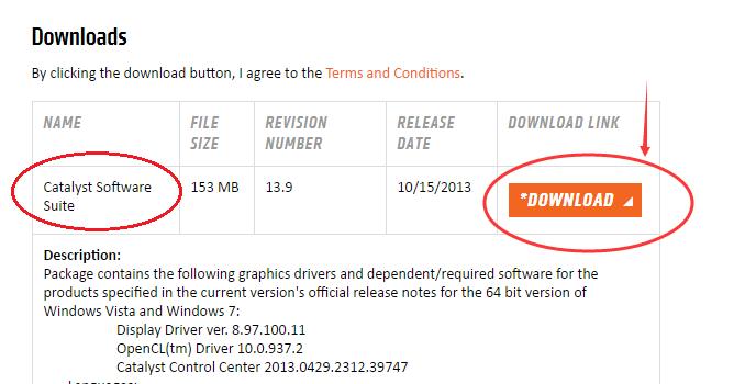 ati catalyst control center download windows 10 64 bit