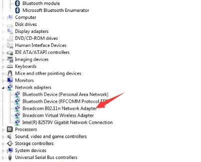 reinstall network adapter
