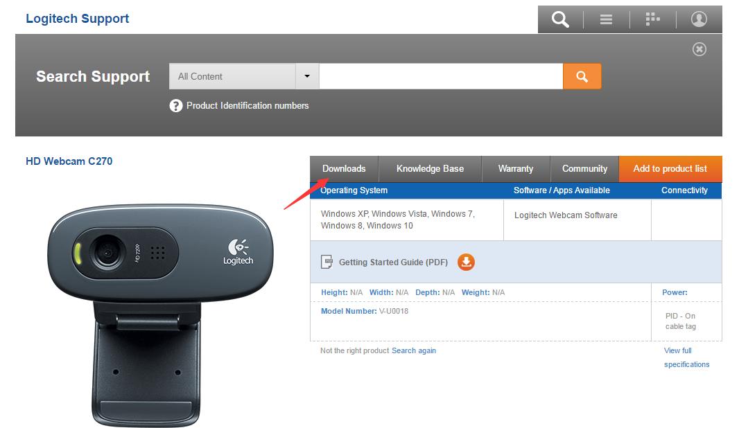 Logitech Webcam Driver Download gratis per Windows 10