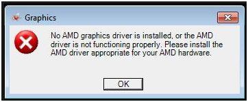 Fehler beheben: Kein AMD Grafiktreiber installiert ist ...