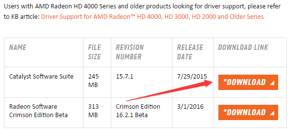 AMD Radeon HD Grafiktreiber für Windows 10 ...