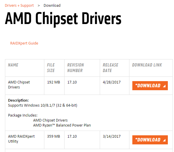 install chipset drivers windows 7
